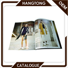 Hot sale designed fashion dress perfect binding catalog