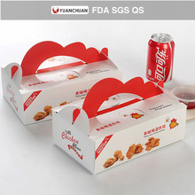 Hefei supplier take away fried chicken boxes