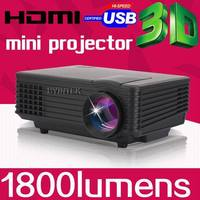 BYINTEK BT905 Smallest Home Theater HDMI LED Digital Mini 3D 1080p hd Projector