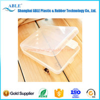 Wholesale stock Transparent simple square storage box, false eyelashes flutter face puff box skype:jingyatou692 ABLE-SL0059-3