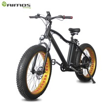 Aimos 48v 750w fat tire aluminum electric mountain bicycle