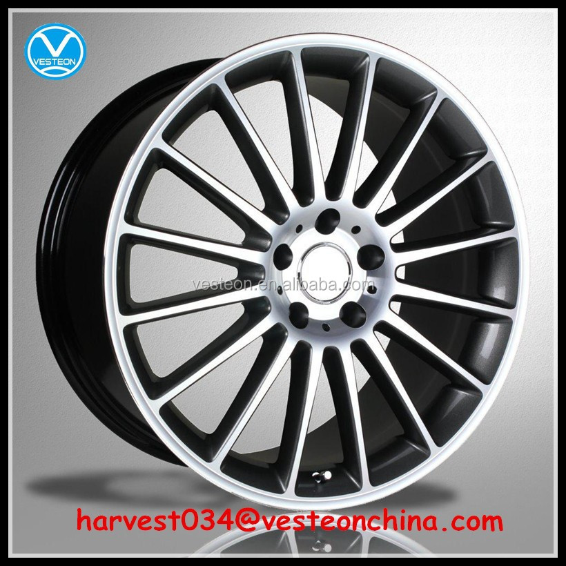 China product multi spokes car wheel rims for sale