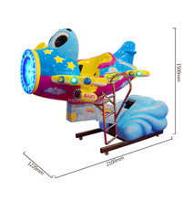 high quality OEM ODEM kiddie helicopter rides in coin operated