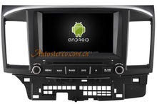 Android Car MP3 Player with GPS Navigation for Mitsubishi LANCER Car DVD Player