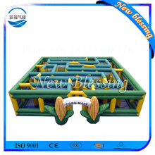 Kids Playground Giant Inflatable Sports Game Inflatable Corn Maze for Sale