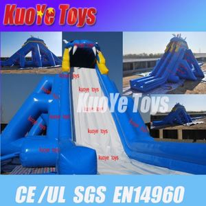 rental inflatable toys inflatable dolphin house water slide popular for kids