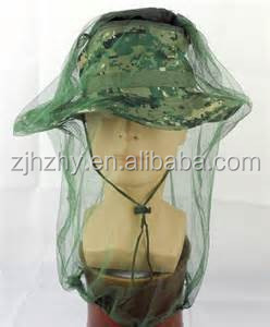 round mosquito net for head /insect/mosquito net hat army mosquito net hat