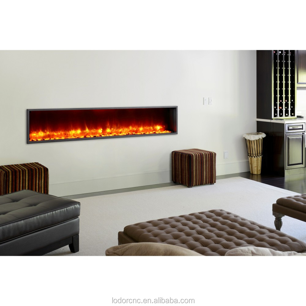 large decorative electric fireplace heater