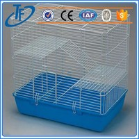 Different Style Wholesale parrot bird cage , acrylic house shape bird cage