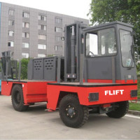 6.0Ton Side Loader Forklift FDS60 with engine ISUZU and Japanese gearbox