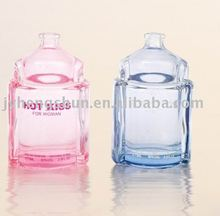 Perfume bottle for couple glass cosmetic container
