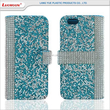 diamond tpu leather purse phone case cover for iphone 4 5 c se s