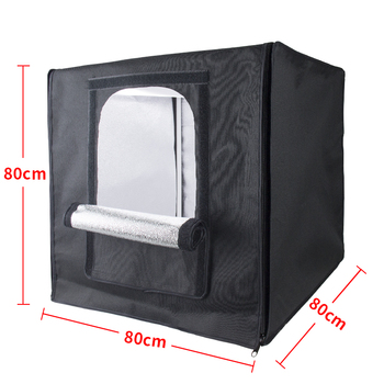 80*80*80 cm,100*100*100cm,120*120*120xm,portable LED photo studio box with carrying bag