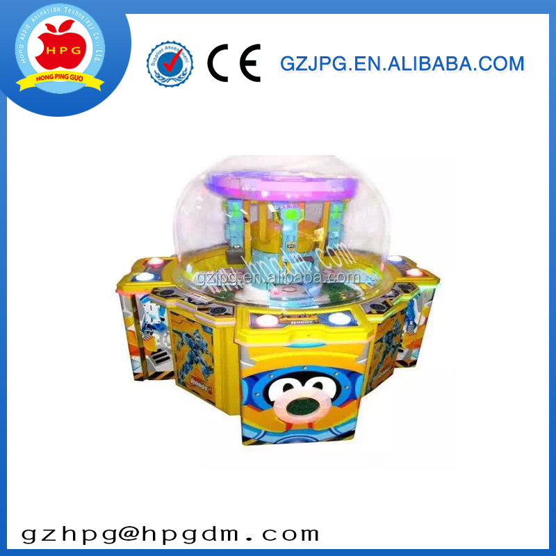Coin operated mini vending prizing crane claw game machine for sale