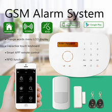 Best selling IOS/Android APP GSM home security alarm system suitable for Villa office building security