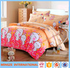 100% cotton wedding bed spread,wolf print bedding/kids cartoon bedding fabric children bedding set