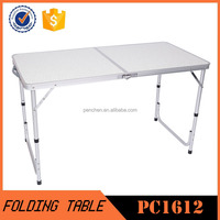 High quality patio furniture folding suitcase table with cheap price