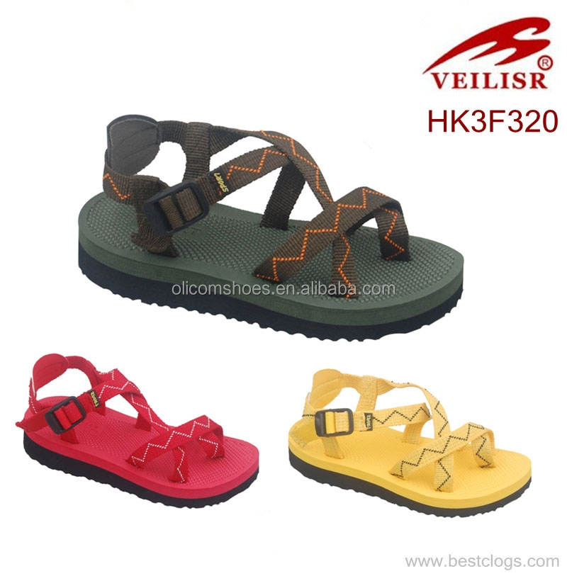 Cheap woven thong kids wholesale sandal