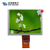 Factory delivery 4:3 ratio 5 inch lcd screen for Advisement player