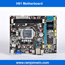 intel h61 chipset lga 1155 socket msi motherboard