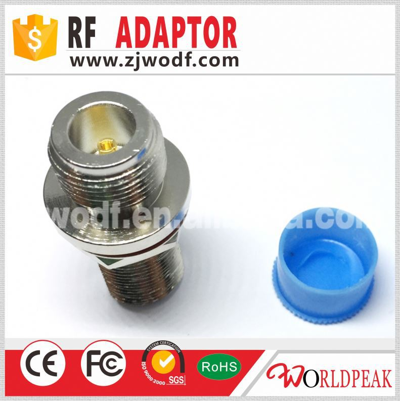 N female bulkhead rf connector adapter