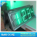 led iron cabinet digital board for gas station