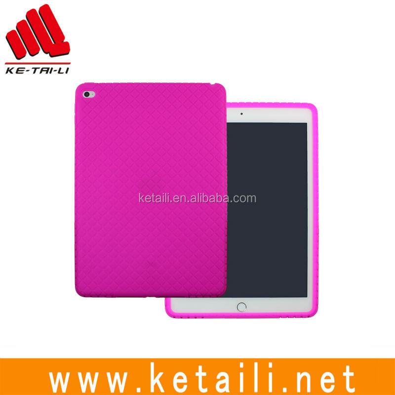 For Apple iPad Air 2 Soft Silicone Tablet PC Case Cover Supplier