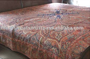 Luxurious Pure Wool Bed cover, Throws , Wool Double Bed Covers