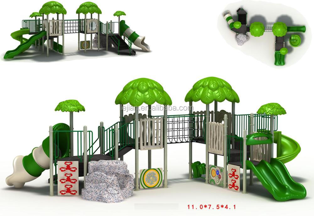 recreational facilities Hot sale little kids good standards kids rubber-coating outdoor playground equipment