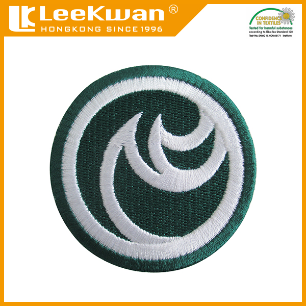 Hand plain embroidery patches for uniform