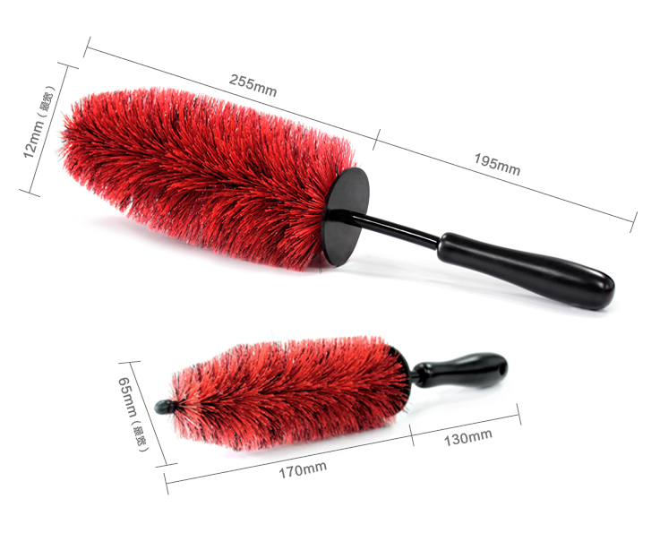 High Quality Wheel Brush with soft bristles