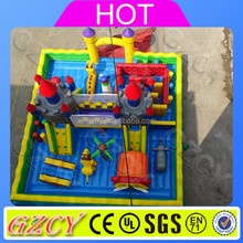 Professional inflatable factory customized giant inflatable bouncy castle with slide