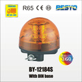 High quality LED rotating beacons with DIN base
