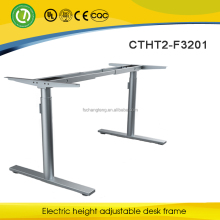 height adjustable computer desk with height adjustable desk legs