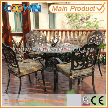 outdoor cast aluminum garden furniture,fibreglass garden furniture,teak aluminum outdoor furniture