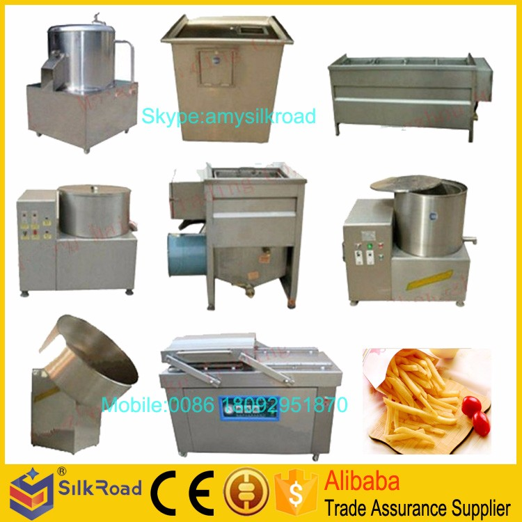 Professional chips machines potato chips making