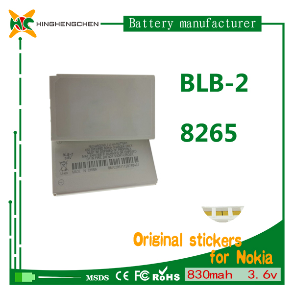 Original BLB-2 Rechargeable Cell phone Battery for Nokia 3610 5210 6500 6510 6590 6590i 7650 8210 3.7V lithium li-ion batteries