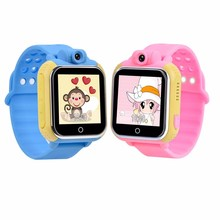 Wonlex 3g Smart Watch Tracker SOS Wrist Watch Phone for Kids with android 2.3 or above IOS5.0