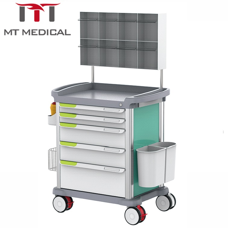MT MEDICAL hospital emergency anaesthesia trolley medical cart prices
