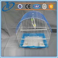 fashion hot sell iron bird cages , folding welded wire bird cage