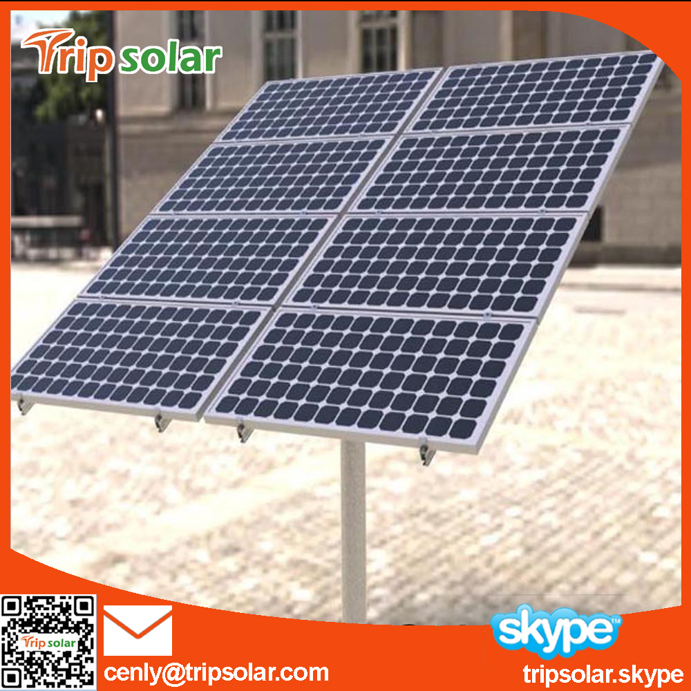 pv solar panel pole ground mounting bracket