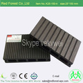Best price black plastic composite deck board WPC hollow decking board