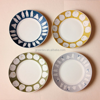 alibaba china factory customized products decals bamboo fiber dinner plate,dinner set