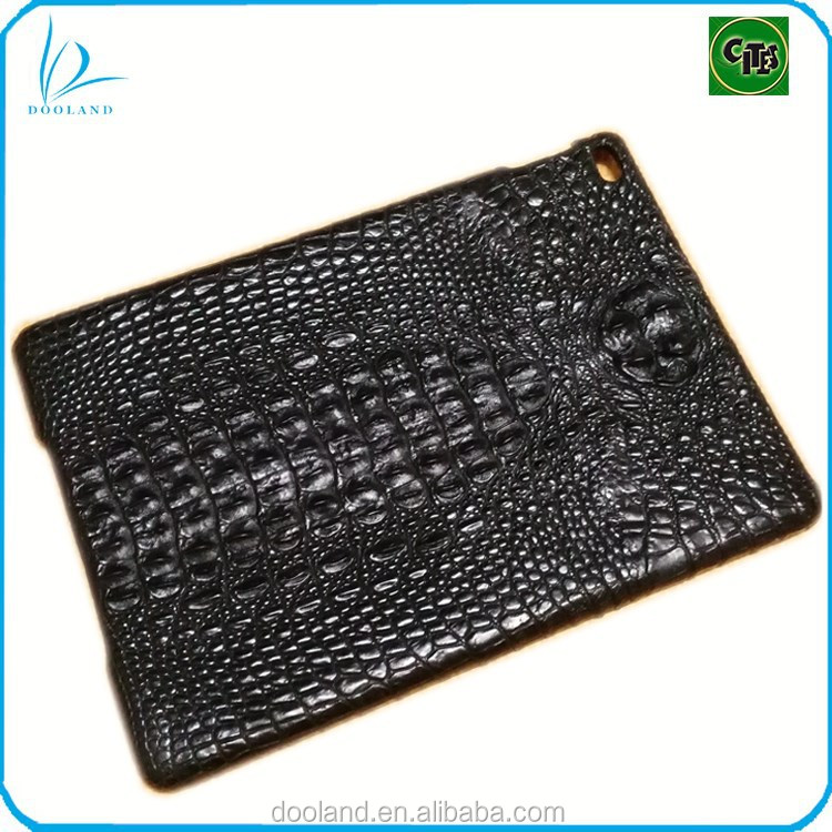 Luxury feel REAL crocodile skin cover genuine crocodile leather case for ipad air
