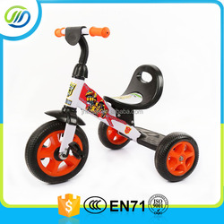 Cheap metal pedal kids tricycle/baby tricycle for sale