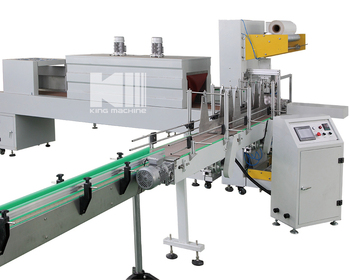 Automatic PE Shrinking Wrapping Packing Machine \ machinery \ equipment