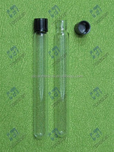 Medical Consumables 16*150mm Culture Tube with Black Bakelite Screw Cap
