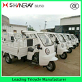 2016 Hot Sale! Petrol cargo tricycle with roof from China OEM