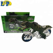 Animal Empire Hand Painted Dinosaur Style <strong>Friction</strong> motorcycle T-rex