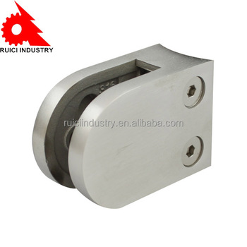 stainless steel spigot glass clamp, glass railing clamp,glass clamp for wall mounting